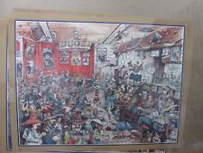 Gathering of the Herd western Cowboy Gary Patterson Funny 1980 poster in#G867