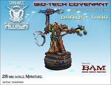 Hitech Miniatures - 28SF098 Mechmaster Darius Thar 28mm Warhammer 40k 40000