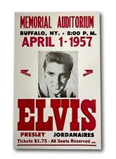 Elvis Presley Repro Tour Poster Eagles Nest 1st show