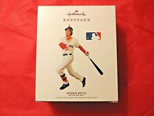 New ListingHallmark 2019 Mookie Betts Boston Red Sox Mlb Baseball Christmas Ornament