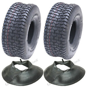 15x6.00-6 tyres and tube for grass mower, ride on lawnmower tyre -Kenda tire x2