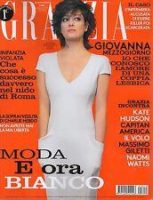 Grazia 2016 19#Giovanna Mezzogiorno,Kate Hudson,Chris Evans,Iris Egbergs,Il Volo