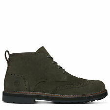 Timberland Squall Canyon dark green leather boot