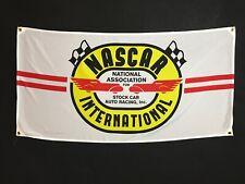 NASCAR Flag Banner ~ ford chevy mustang nova ss camaro dodge racing v8 sbc 350