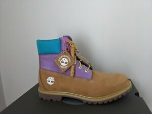 """Timberland Women's 6 inch"""" Double Sole Premium Waterproof Boots Style A2MBE23NIB"""