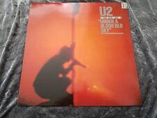 U2 LIVE UNDER A BLOOD RED SKY N MINT IMA 3 1983