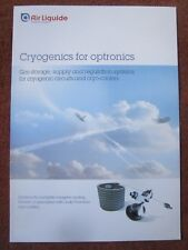 DEPLIANT AIR LIQUIDE OXYGEN CRYOGENICS FOR OPTRONICS CRYO COOLER