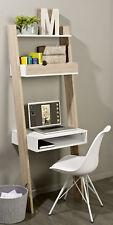 SoBuy® Wall Storage Shelving Unit with Drawer & Desk Workstation,FRG111-WN,UK