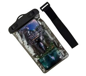 Mobile Phone Universal Waterproof Underwater Neck Armband Dry Bag Pouch Case