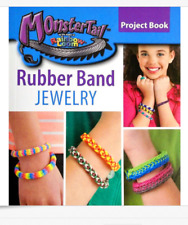 Monster Tail Rubber Band Jewelry Rainbow Loom Project Book Leisure Arts NEW