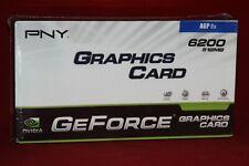 PNY Nvidia GeForce 6200, 512 MB, AGP Graphics Card (VCG62512AEB, R144182)