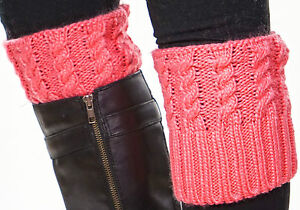 Women's Knit Boot Cuffs Topper 15 Colors!