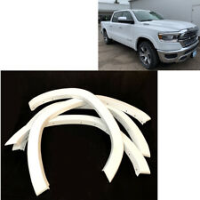 2019-2020 Dodge Ram 1500 Wheel Fender Flare Protection Painted White OE Style