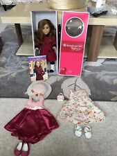 American Girl Doll 18in Retired Rebecca With Outfit