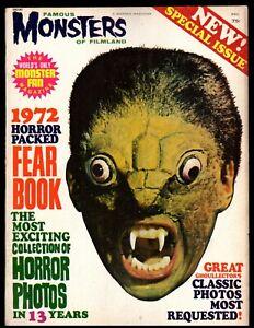FAMOUS MONSTERS 1972 FEARBOOK (VG/F) WARREN