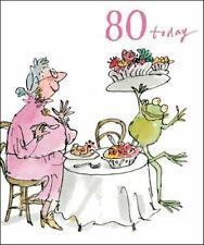 Quentin Blake 80th Cumpleaños Tarjetas de Felicitación Tarjeta popular variedad saludos