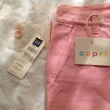 gap capri pants/jeans baby pink size 8