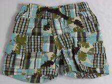 Gymboree Baby Boy 6-12 Mo Madras Plaid Shorts 100% Cotton