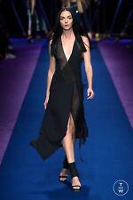 GIANNI VERSACE RUNWAY CRYSTAL EMBELLISHED DRESS BNWT IT 44 UK 12 £6,650  94% OFF