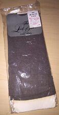 Vintage 1980's - The Look Of Silk - Knee Highs - Gray - New