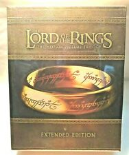 The lord of the Rings Trilogy blu ray extended édition Canada import Zone A New