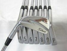 Used LH Titleist ZM Forged Iron Set 3-P Stiff Flex Steel Shafts