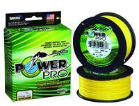 NEW! Power Pro Spectra Fiber Braided Fishing Line, Hi-Vis Yellow, 3 21100300300Y