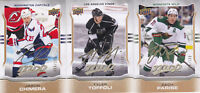 14-15 UD MVP Tyler Toffoli /100 GOLD Script LA Kings Upper Deck 2014