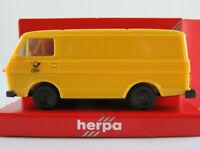 """Herpa 4015 VW LT 28 Kastenwagen (1975-1996) """"DBP"""" in gelb 1:87/H0 NEU/OVP"""