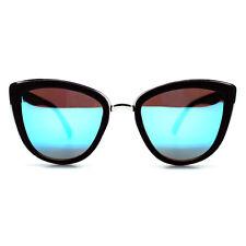"NEW QUAY AUSTRALIA Black/Blue ""MY GIRL"" Retro Cat Eye Sunglasses - 40% OFF"