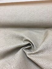 MARK & SPENCER / NEXT MINK DIMOND CHENILLE UPHOLSTERY FABRIC 19 METRES