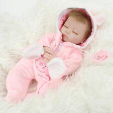 "NPK 18"" Reborn Bambole Baby Doll Soft Vinyl Silicone Sleep Newborn Toy"
