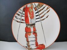 """WILLIAM SONOMA SEAFOOD BOIL DINNER PLATE - (A)  11 1/8"""" -1212C"""