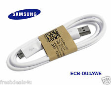 100% Genuine Samsung Galaxy S6 EDGE + S5 S4 Note 4 3 Fast Charger Data USB Cable