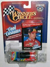 Jeff Gordon NASCAR Winners Circle Cool Customs 1957 Bel Air 1:64 Diecast Car