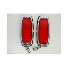1941 - 1948 Chevy 39 LED Red Brake Turn Signal Tail Lights / 1942 43 44 45 46 47