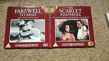 Scarlet Pimpernel & Farewell to Arms 2 x Promo DVD