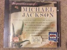 Extremely Rare Michael Jackson The Great Love Songs Of (WD72289 New/sealed) CD