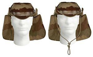 Chapeau de brousse armée Française camouflage DÉSERT modèle F3 neuf en taille 2