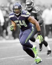 Seattle Seahawks BOBBY WAGNER Glossy 8x10 Photo Spotlight Football Poster