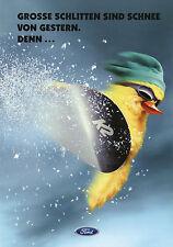 Prospekt Ford Ka Snow Edition 11/98 Autoprospekt 1998 Broschüre Auto brochure
