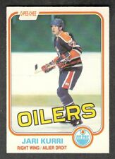1981-82 JARI KURRI #107 OPC ROOKIE NM 7 ** HALL OF FAME Star NHL Hockey Card RC