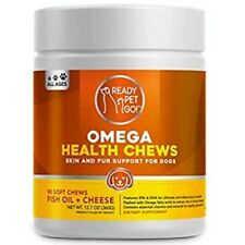 New listing New Ready Pet Go! Omega 3 for Dogs with Epa & Dha Fatty Acids - Dog Skin Allergy