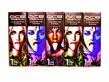 OCB Premium Tongues Rolling Papers - 5 Packs - 25 each - RYO Tobacco - NEW DIY