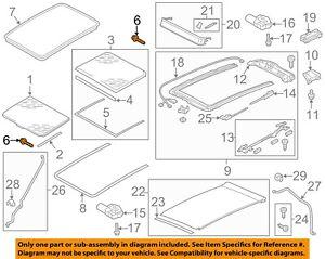 VW VOLKSWAGEN OEM 11-17 Touareg Sunroof-Mount Kit 7P0898955