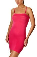 TRIUMPH SHAPE SENSATION BODY SLIMMING SHAPING DRESS BRIGHT PINK M NEW PARTY