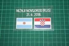 CROATIA World Cup 2018 Away Shirt Match Details ARGENTINA Vs CROATIA