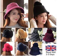Elegant Women Ladies Wool Felt Fedora Floppy Cloche Brim Hat Cap