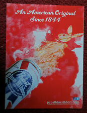 2012 Print Ad Pabst Blue Ribbon Pbr Beer ~ An American Original Since 1944 Red