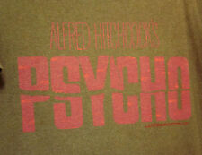 PSYCHO logo lrg T shirt Alfred Hitchcock throwback tee Norman Bates shower scene